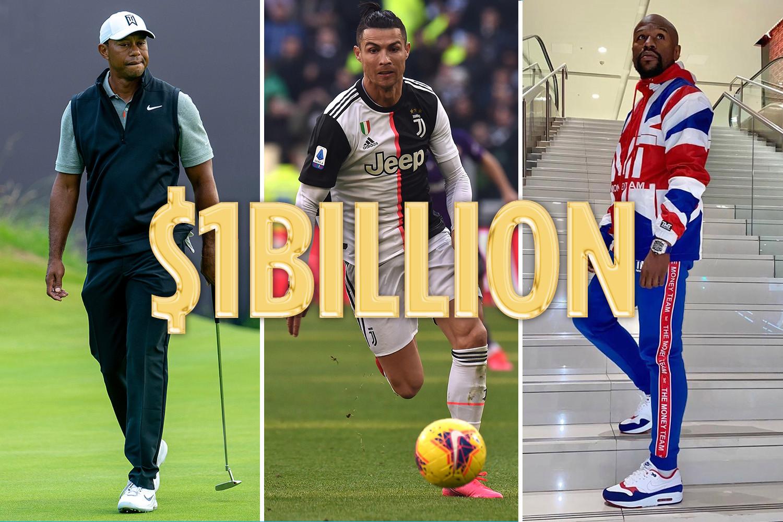 足坛第一!体坛第三!C罗生涯收入将破10亿美元