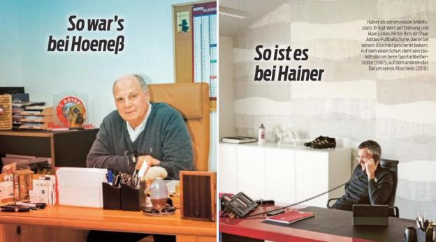 一图流:前主席赫内斯的办公室vs现主席海纳的办公室