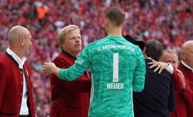 卡恩:诺伊尔是拜仁的标志,努贝尔要珍惜向他学习的机会