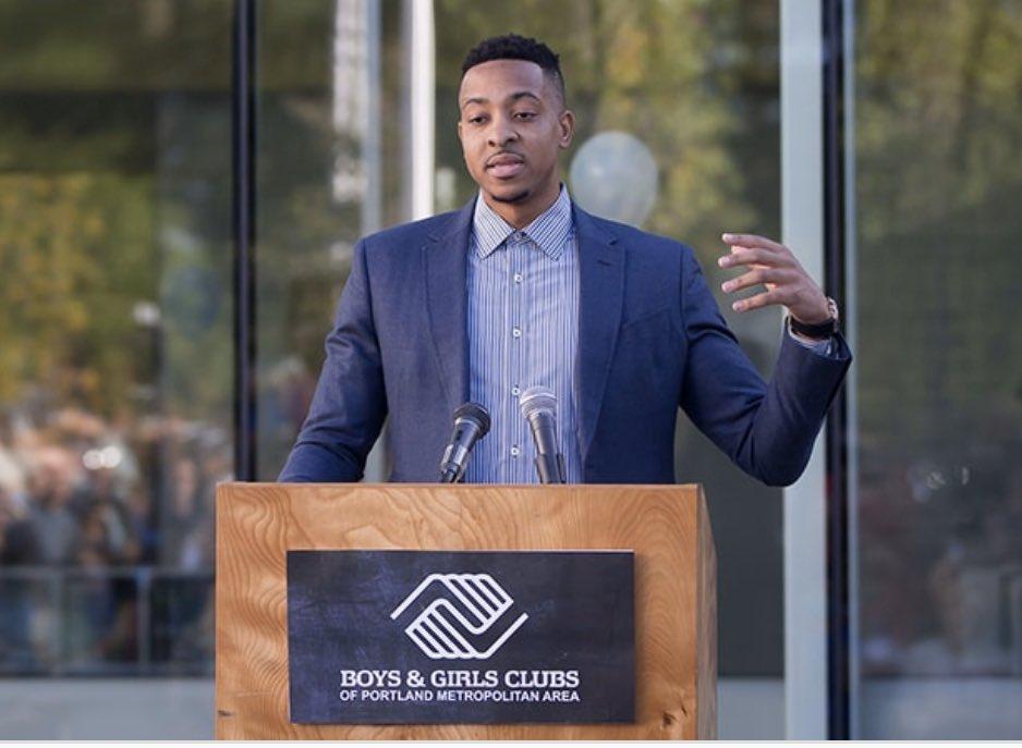 CJ-麦科勒姆将为波特兰社区救济会和坎顿市组织捐献17万美元
