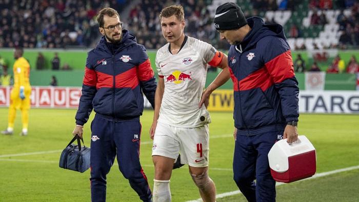 踢球者:莱比锡队长可能赛季报销,五月无法回归
