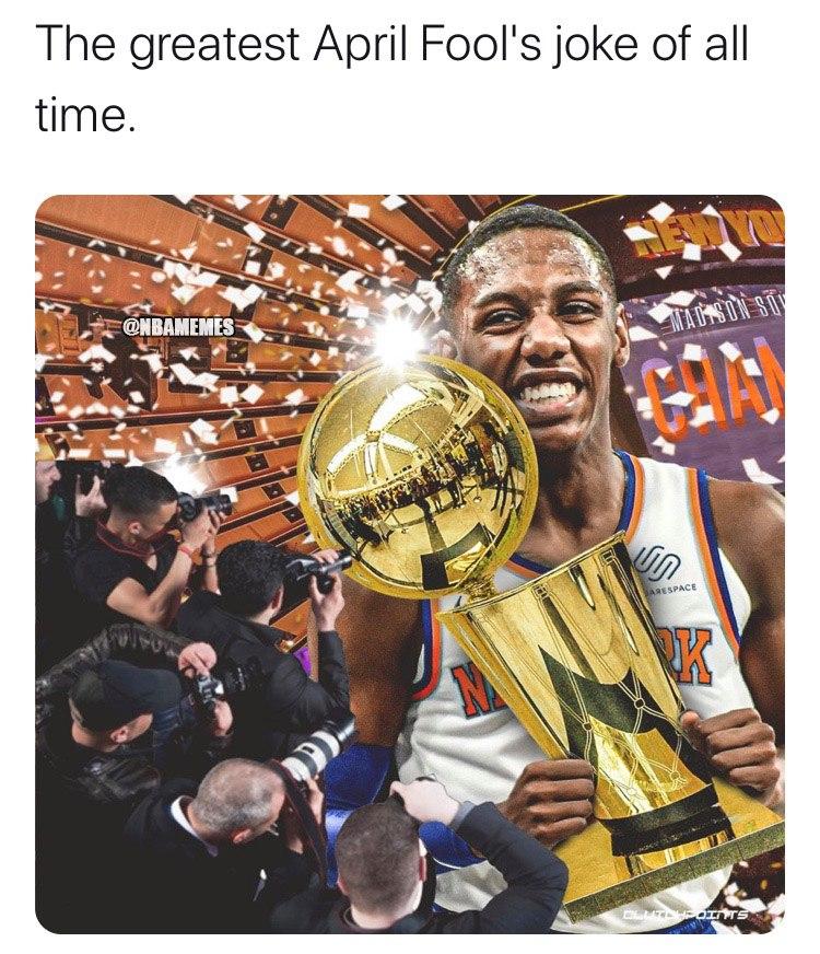 NBA一周国外梗图:史上最益一届名人堂,愚人节鬼话连篇