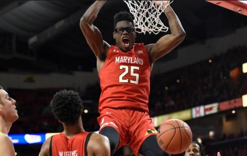 马里兰大学前锋杰伦-史密斯宣布参加今年NBA选秀