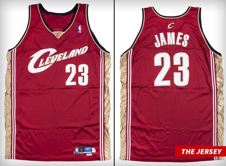 詹姆斯新秀赛季球衣预计将以超过63万美元的价格成交