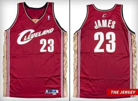 詹姆斯新秀赛季球衣预计将以凌驾63万美元的价钱成交