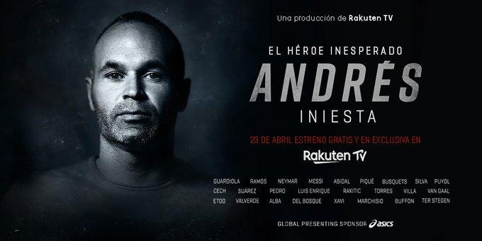 伊涅斯塔纪录片本月首映,梅西瓜迪奥拉内马尔拉莫斯等人出镜