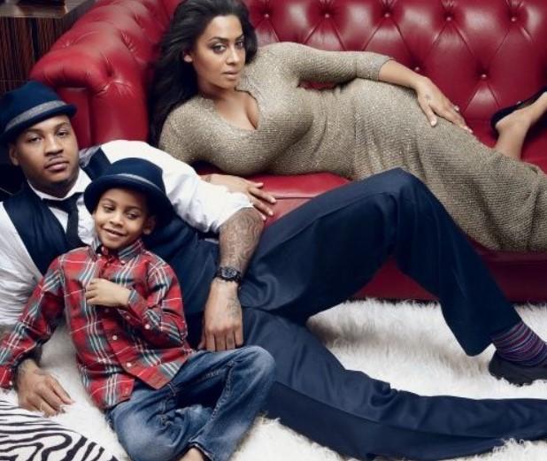 安东尼妻子拉拉:和安东尼父子一起在家隔离,儿子很开心
