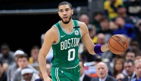 安吉:我家有篮球框,随时可以让塔特姆来用