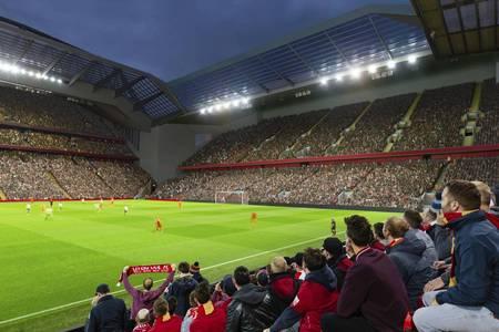 利物浦官方:受疫情影响,安菲尔德扩建将至少推迟12个月
