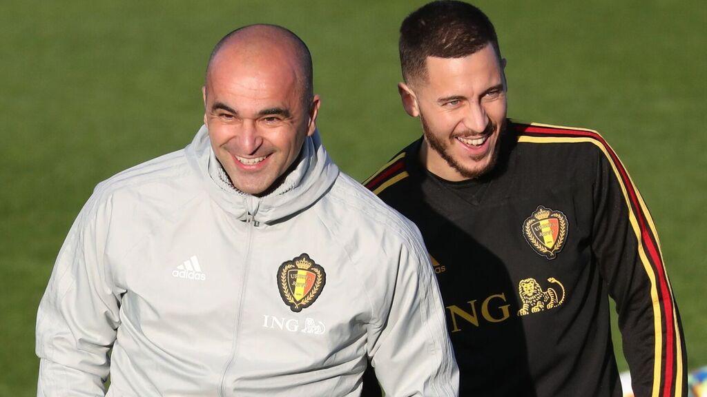 马丁内斯:阿扎尔受伤时我在现场,默尼耶赛后应该很难过
