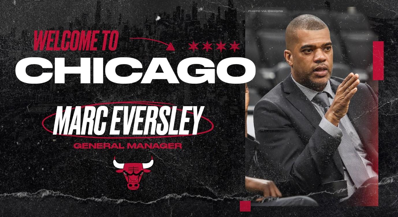 官方:公牛正式任命马克-埃弗斯利为球队新任总经理