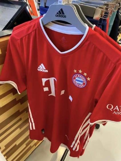 一图流:拜仁慕尼黑下赛季球衣谍照曝光