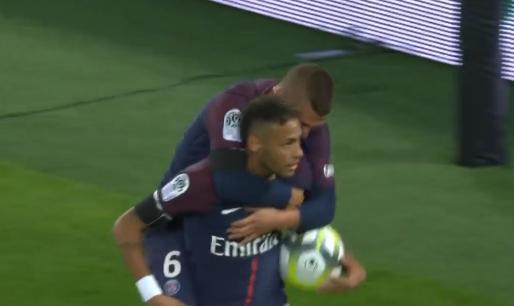 GIF:内马尔补射得分,巴黎生涯主场首球诞生