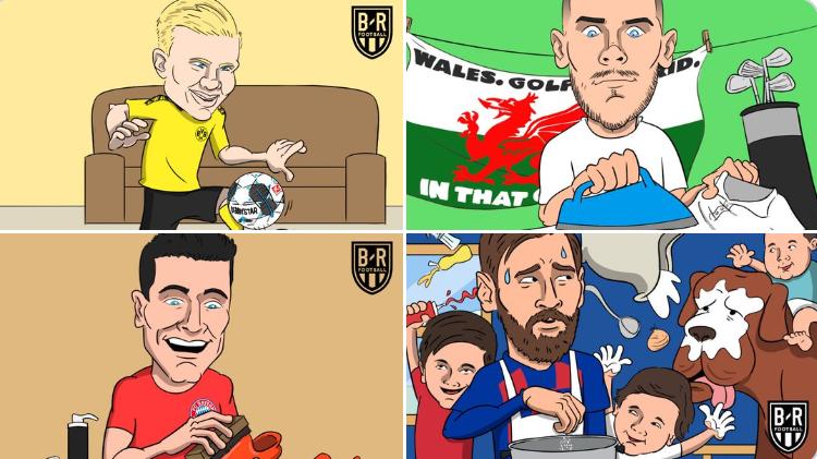 喜提德甲回归!B/R海报:德甲球星和其他联赛球星的区别