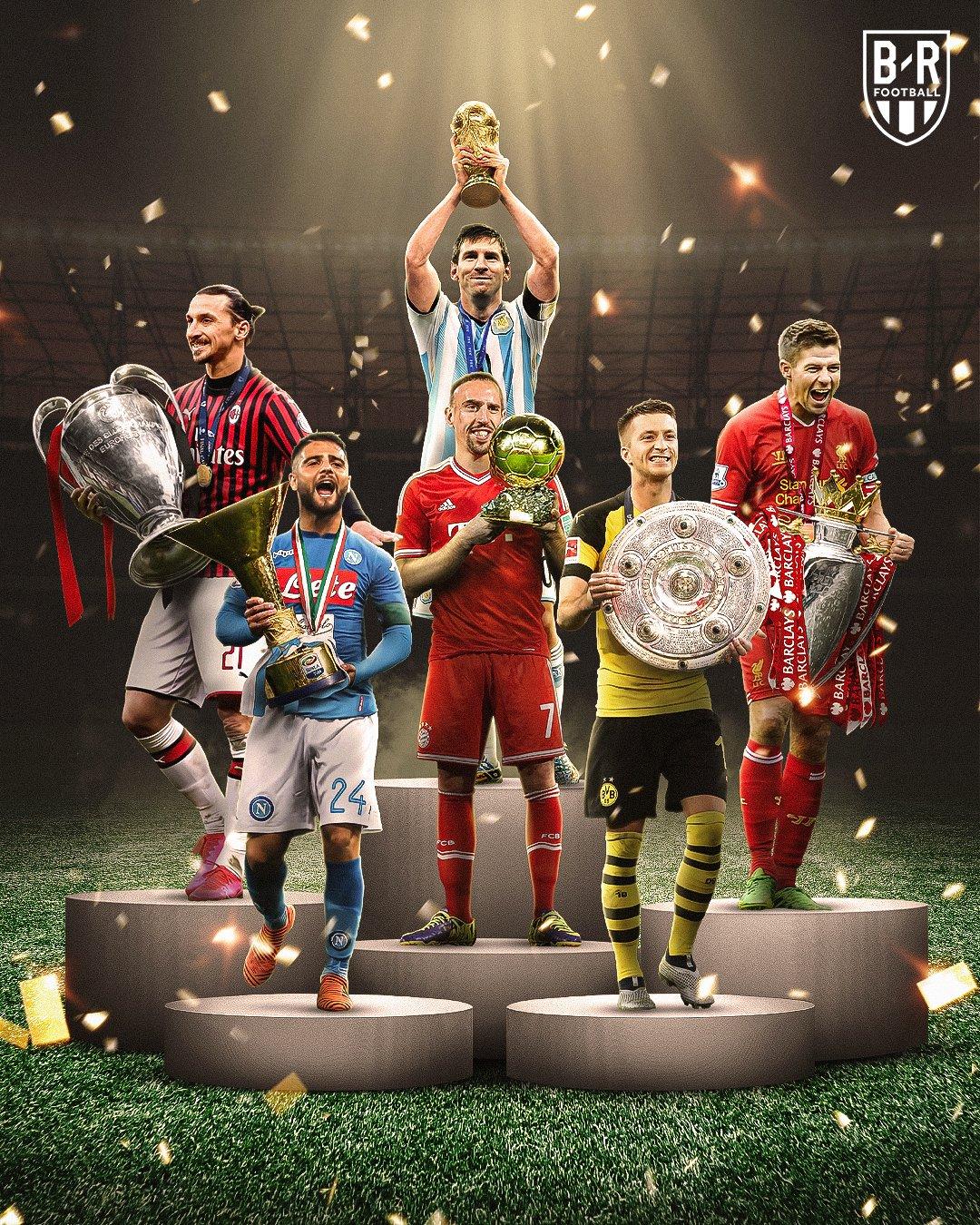 意难平!B/R海报:这些球员们最想得到的奖杯