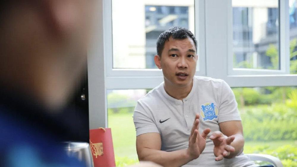 富力俱乐部董事长黄盛华:2020是中国足球回归理性元年