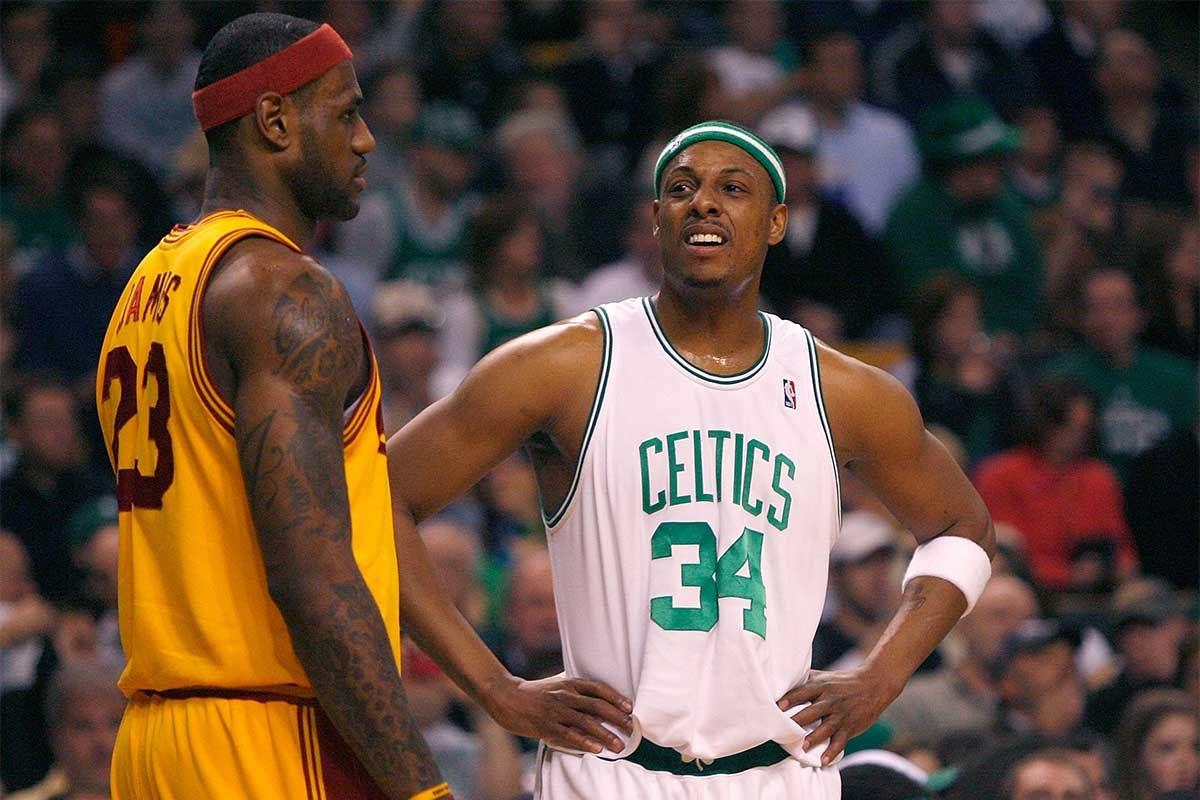 還抓著詹皇不放?皮爾斯:MVP的歸屬詹姆斯只能排第二,贏公鹿一場不代表什麼!-籃球圈