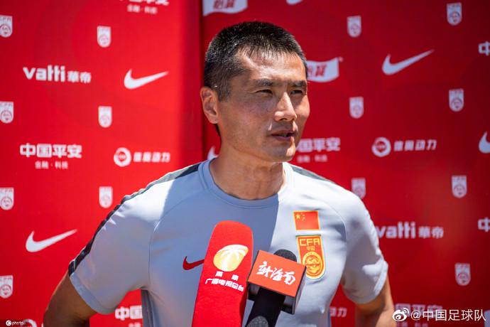 U16国少领队邵佳一:目标只有一个,就是进入明年世少赛