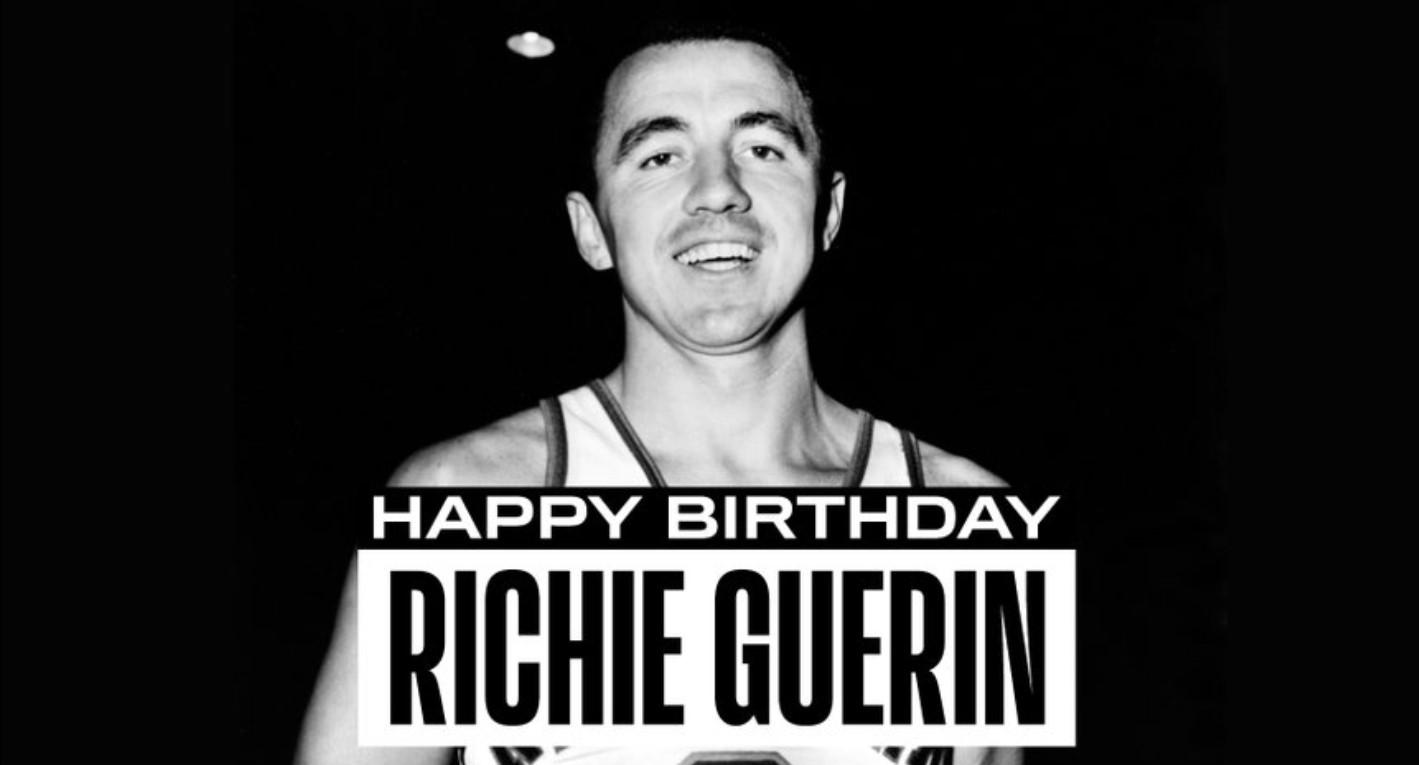 NBA官方祝名人堂球员里奇-盖伦88岁生日快乐