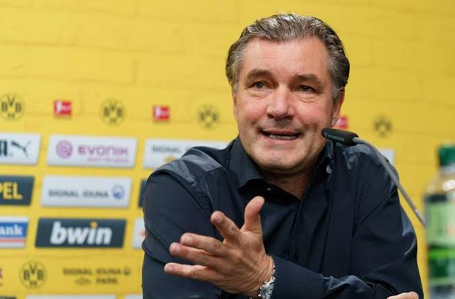 多特主管:德甲冠军已经属于拜仁,我们目标第二名