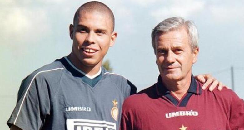 国米功勋教练西莫尼生前采访:大罗是最优秀最强大的球员