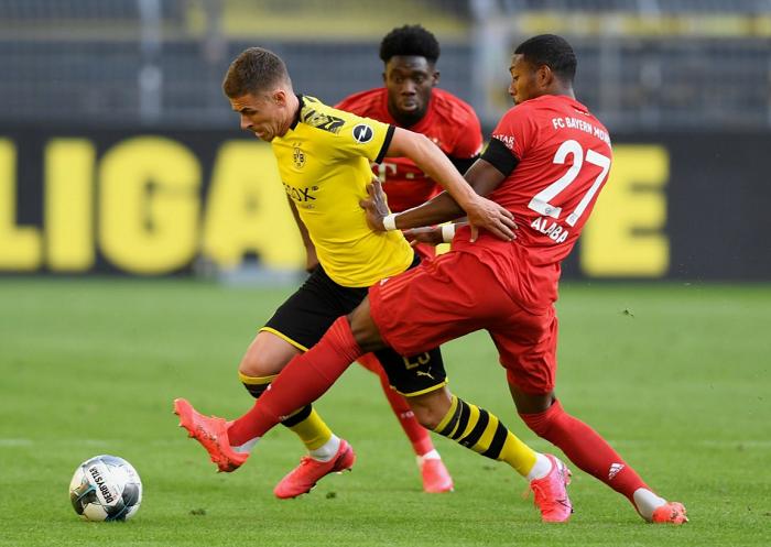 德甲本赛季完成过人榜单:戴维斯72次第一,科斯蒂奇第二