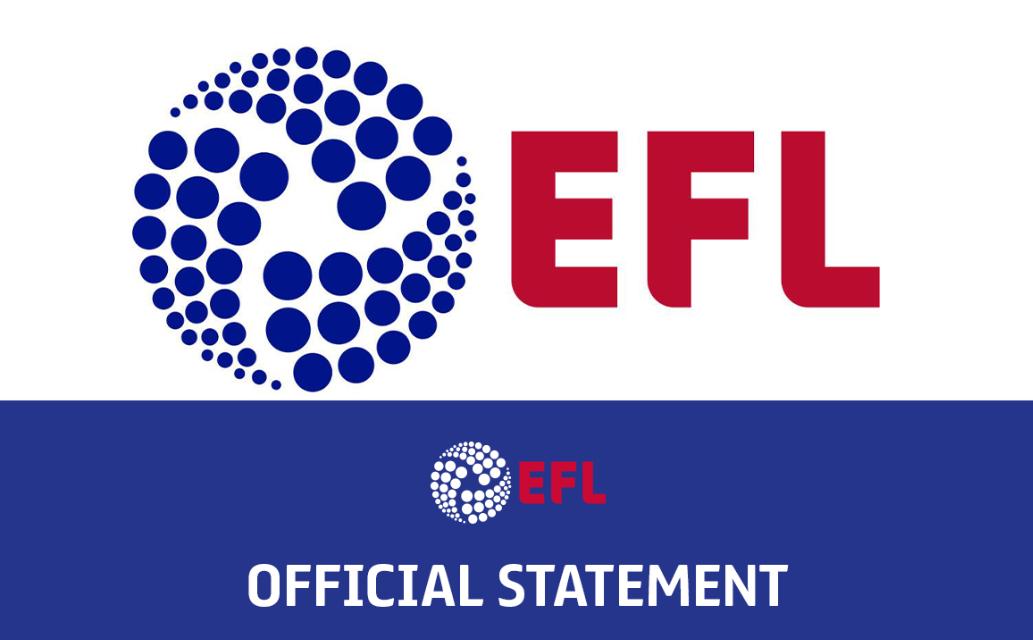 EFL官方:第四轮新冠检测出炉,6支英冠球队9人呈阳性