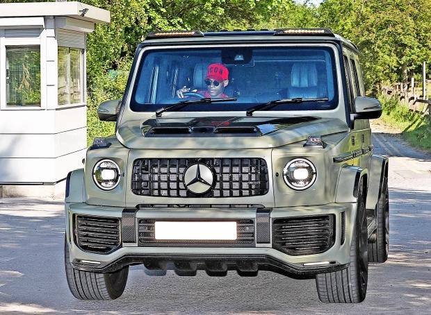 喜提新车!拉什福德新购入价值15万镑的新款大G