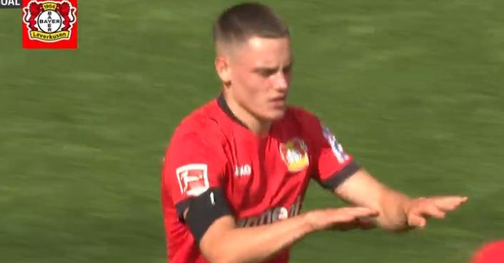 GIF:扳回一球,威尔茨兜射破门,拜仁4-2勒沃库森