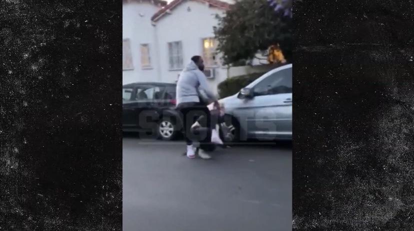 TMZ:JR-史密斯很可能不会因为在街头打人遭到指控