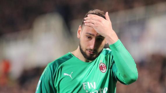 意天空:唐纳鲁马想要留在米兰,他的心是红黑色的