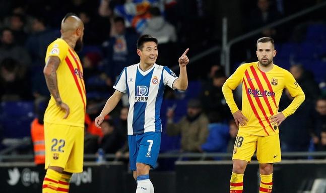 亚足联邀球迷票选闯荡西班牙的最伟大亚洲球员,武磊入选