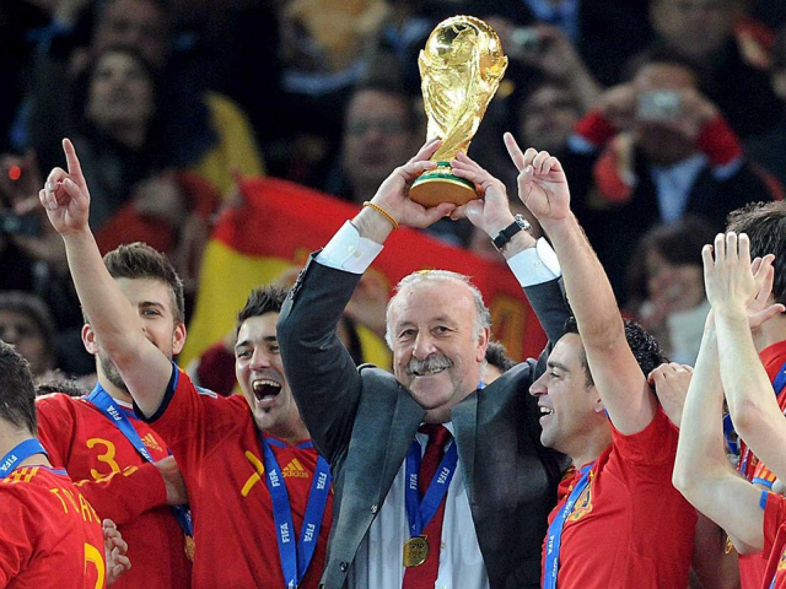 博斯克:10年世界杯冠军是命中注定,我们有实力也有运气