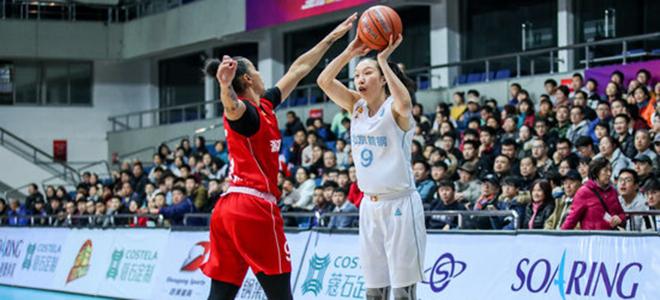 北京女篮以第一名结束本赛季,邵婷:希望下季继续冲冠