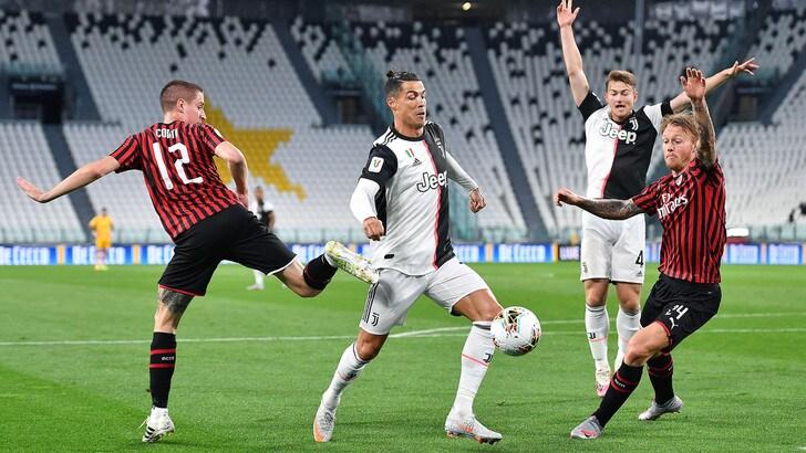 意杯:C罗失点,尤文0-0总比分1-1凭客场进球晋级决赛