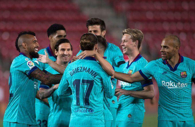 梅西两传一射,布莱斯维特处子球,巴塞罗那0马略卡