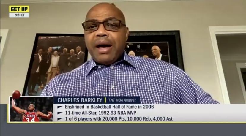 巴克利:球员不打比赛会很傻,异国关注度,还亏损收好