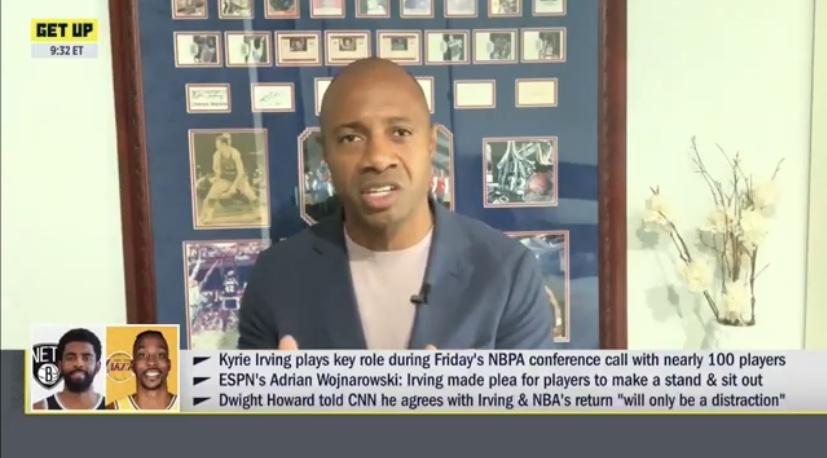 杰伊-威廉姆斯:若其他体育联盟都复赛,NBA罢赛会怎样?