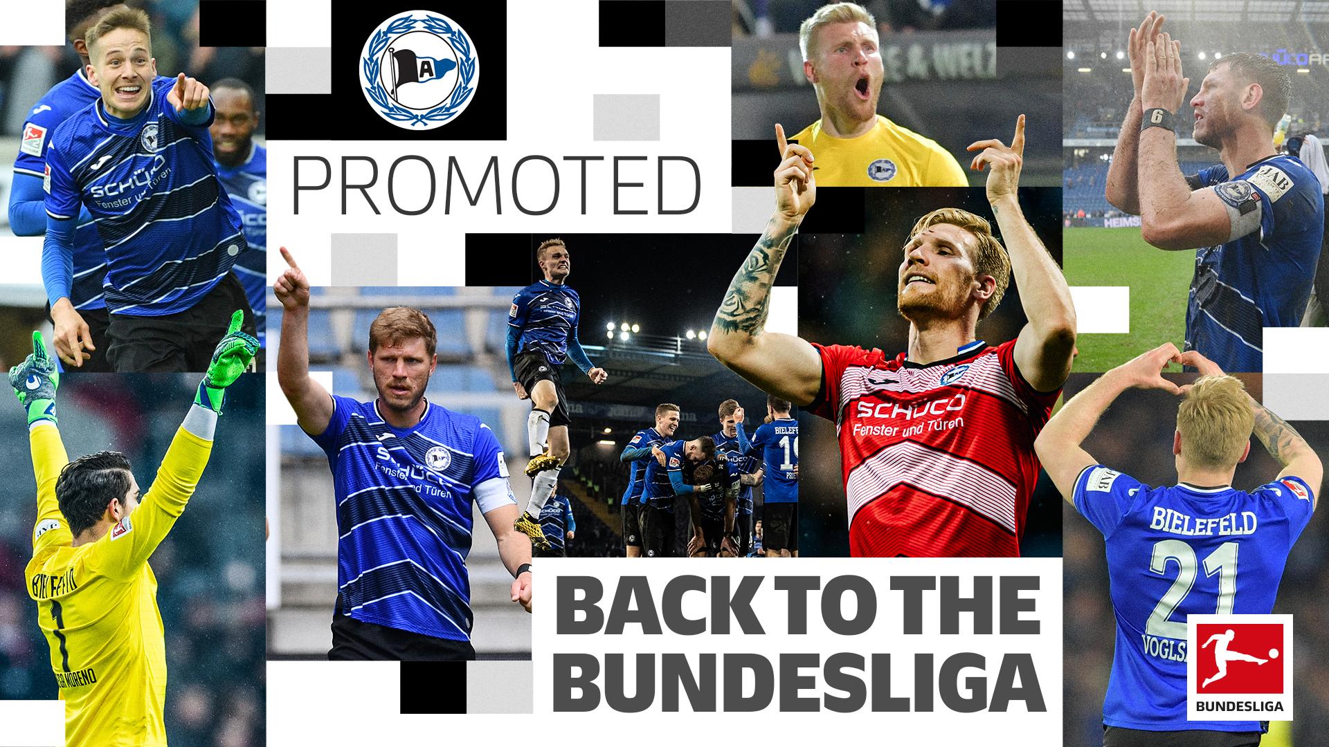 汉堡未能取胜,比勒菲尔德提前3轮升级11年后重返德甲
