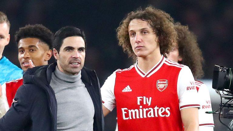 阿尔特塔:希望大卫-路易斯留下,力求下赛季打进欧冠