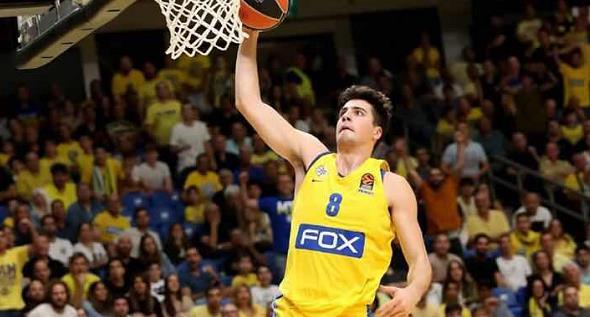 德尼-阿夫迪亚:会参加以色列篮球冠军联赛,努力争冠