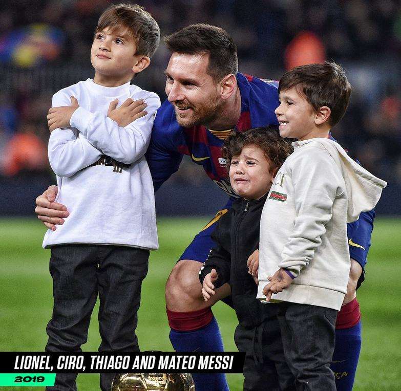 父亲节快乐!B/R海报:球星和他们儿子的同框照