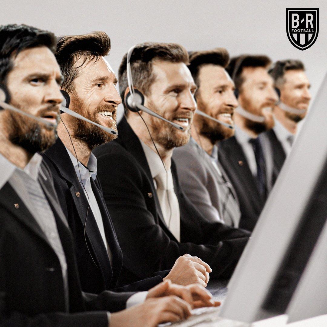 梅西本场共10次过人 创造5次机会,五大联赛本赛季第一人