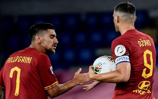 哲科梅开二度,罗马2-1战胜桑普多利亚
