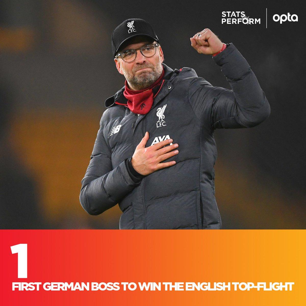 外来和尚会念经!克洛普成首位率队夺取英超的德国教练