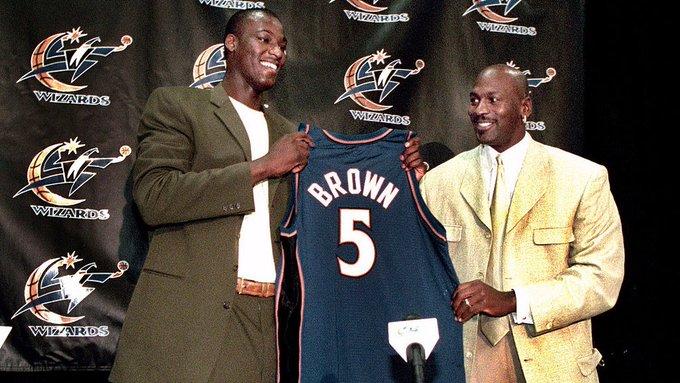 19年前的今天,奇才用状元签选中高中生夸梅-布朗