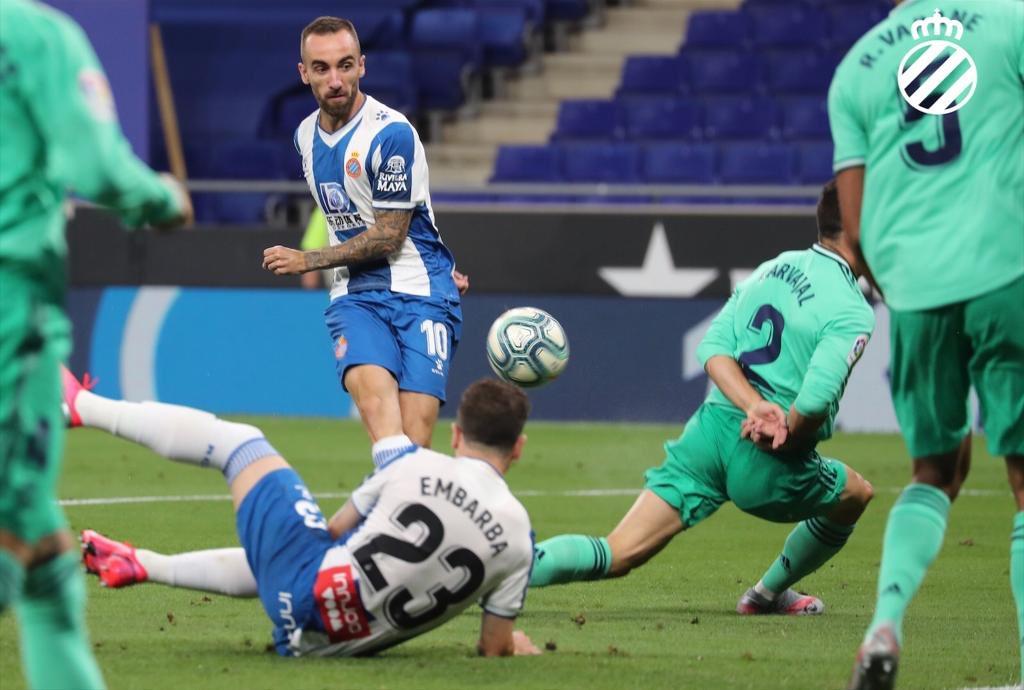 西甲还剩6轮落后保级区10分,西班牙人最快本周末降级