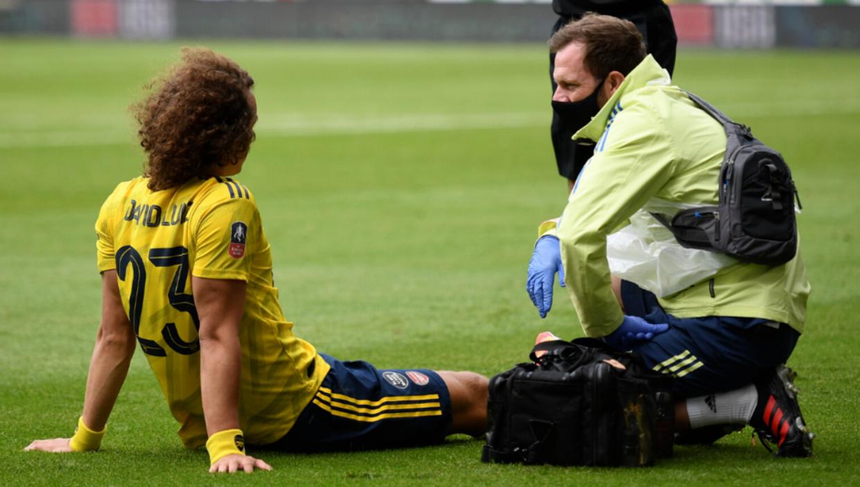 阿尔特塔:大卫-路易斯脚踝受伤,将在周一接受进一步检查