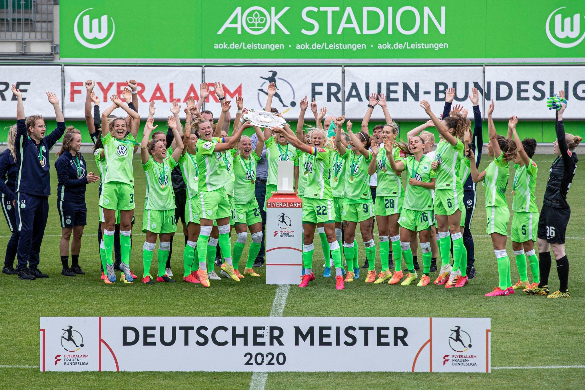 女足德甲落幕:狼堡不败夺4连冠,拜仁夺亚军获欧冠资格