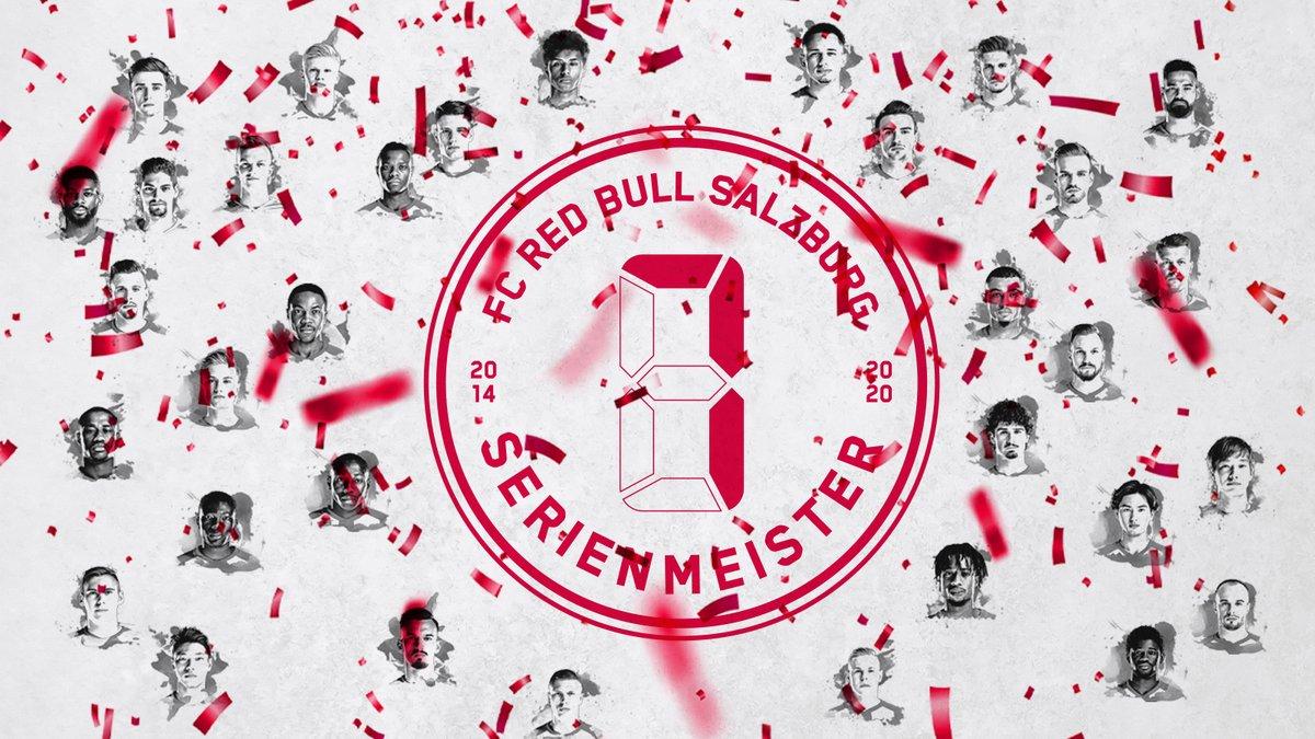 萨尔茨堡提前两轮夺奥甲7连冠,本赛季包揽国内双冠